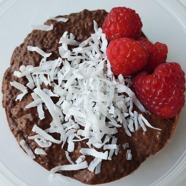 Chocolate Coconut Chia Pudding