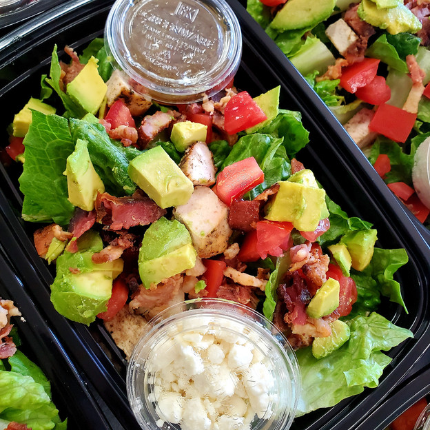 Chopped Summer BLT Salad with Grilled Chicken