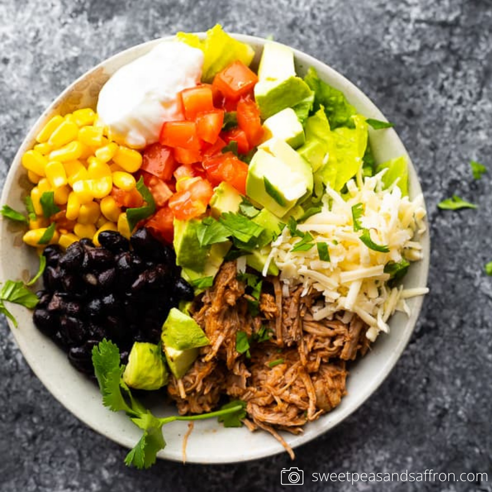 Mexican Pulled Pork Burrito Bowl