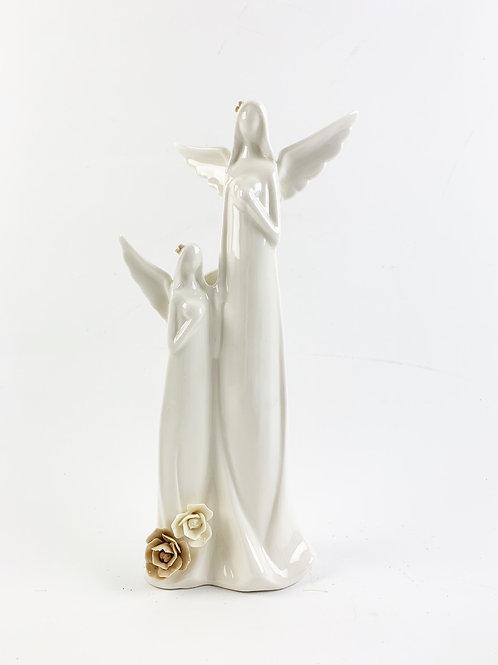Ceramic Angel Duo