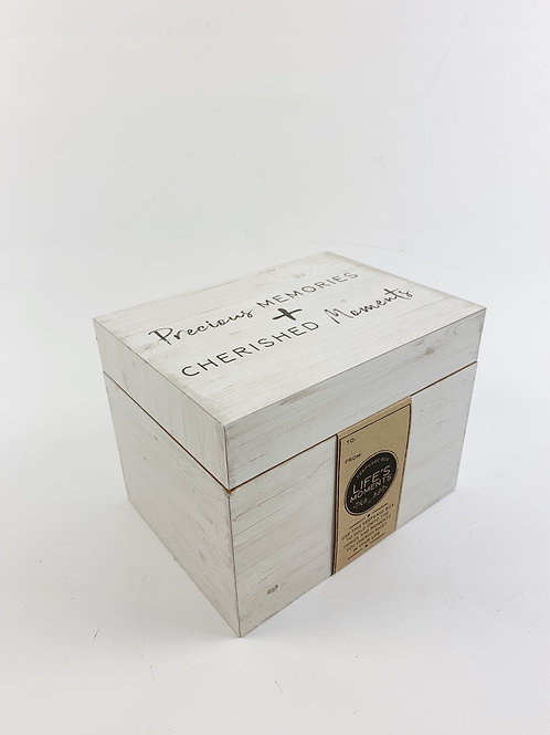 Memory Box White