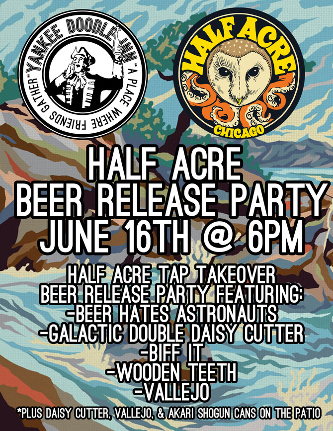 Half Acre Beer Release Party