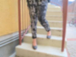 handprited pants