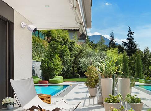 Câmeras de Segurança intelbras em ambientes residencial, dicas de uma instalação profissional.