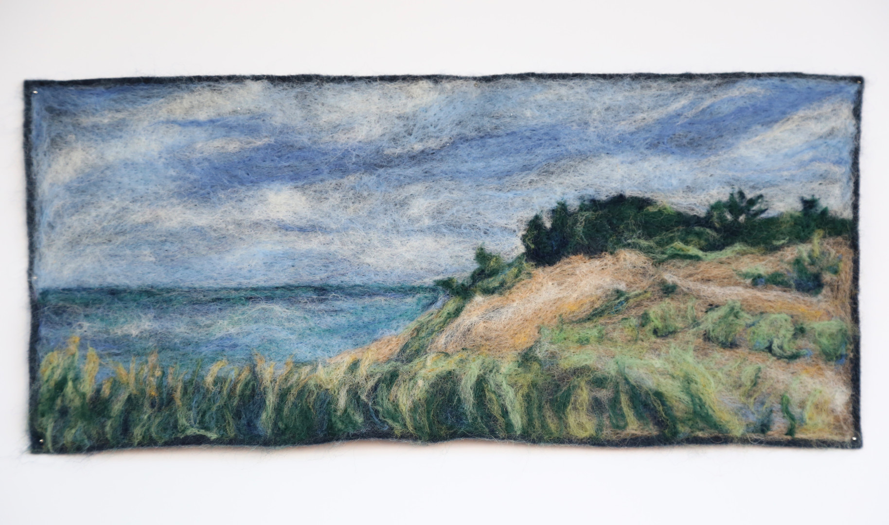 """Sunny Day in Saugatuck Dunes State Park - 6.5x15"""""""