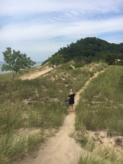 Walk through Saugatuck Dunes