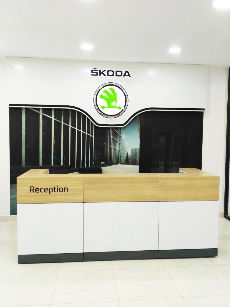 SKODA -WORKSHOP OFFICE