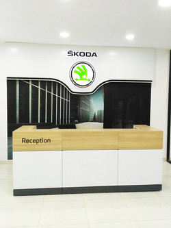 SKODA -WORKSHOP OFFICE