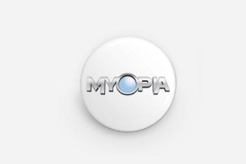 "1"" x 1"" Myopia Pin, A  San Diego Comic Con 2017 Exclusive"