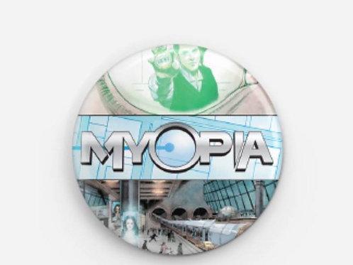 "1.5"" x 1.5"" Myopia Varient Cover Pin, A  San Diego Comic Con 2017 Exclusive"