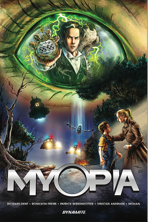 Myopia Graphic Novel (Read below for special ordering instructions.)