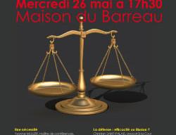 """Intervention au colloque de l'Institut de Droit Pénal """"Une nouvelle procédure pénale"""","""