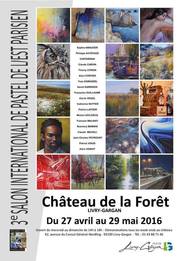 Paris International Pastel Show, April 27-May 29