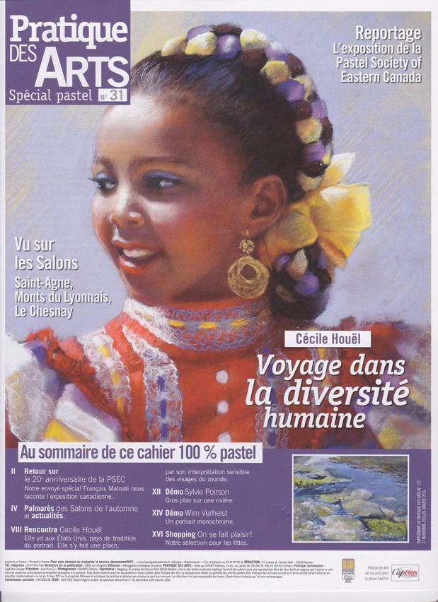 Rencontre avec Cecile Houel - Pratique des Arts Spécial Pastel n°31