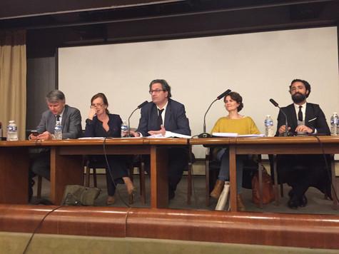 """Participation au colloque """"Le bilan de la politique pénale du quinquennat"""" à Sciences Po"""