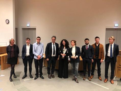 Participation à la finale du Trophée des Orateurs, 15 mai 2021.