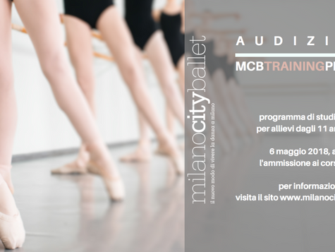 Audizione MCB training program