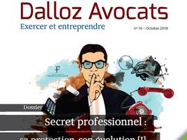 """""""Règles pratiques essentielles de la contestation d'une perquisition chez l'avocat"""", Dallo"""
