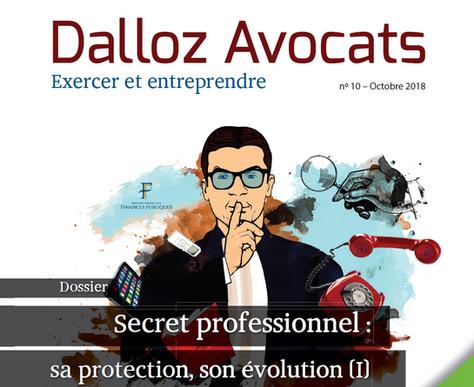 """""""Règles pratiques essentielles de lacontestation d'une perquisitionchez l'avocat"""", Dalloz Avocats"""
