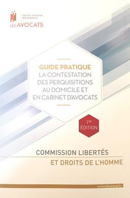 Publication du Guide pratique de la contestation des perquisitions chez l'avocat, édité par le C
