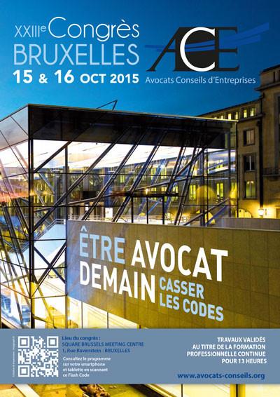 23ème Congrès de l'ACE à Bruxelles