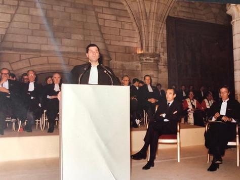 Discours de Rentrée solennelle du Premier secrétaire de la Conférence, 28 juin 1985