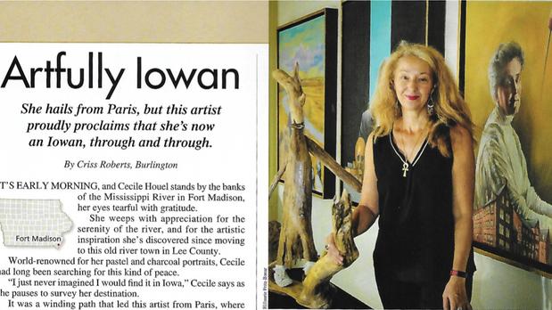"""Artfully Iowan"", Our Iowa Magazine"