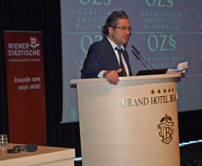 Intervention sur le thème des perquisitions et du secret professionnel auprès du Barreau de Slovénie