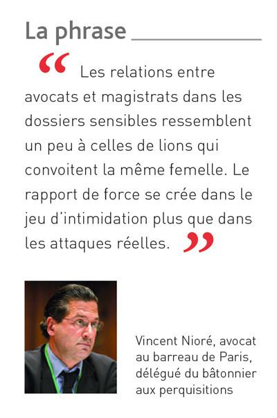 """""""Les relations entre les avocats et les magistrats dans les dossiers sensibles..."""" Gazette"""
