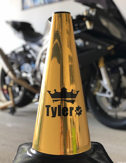 Official Custom Gold Cone