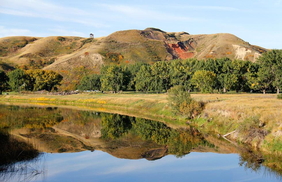 Reflections at Elizabeth Hall Wetlands