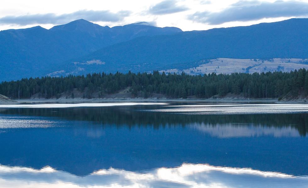 Sunrise at Sophie Lake
