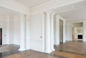 Fibrous Plaster Cornices, Friezes, Dados and Wall Panel Mouldings