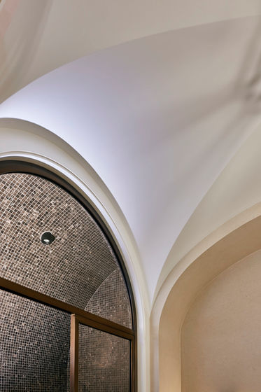 Fibrous Plaster GRG Groyne Ceiling and Arch
