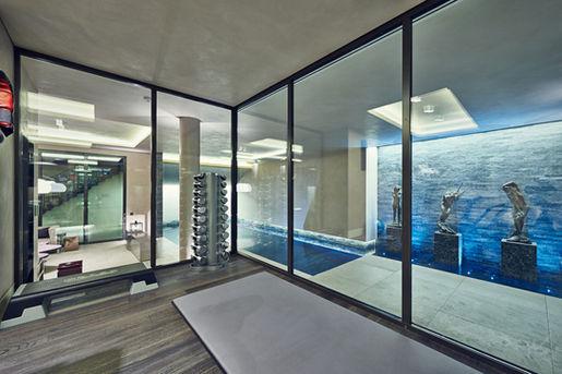 Swimming Pool & Fitness Area