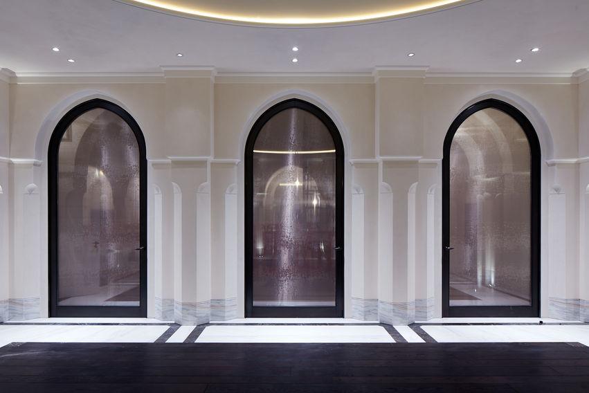 Fibrous Plaster GRG Arches and Columns