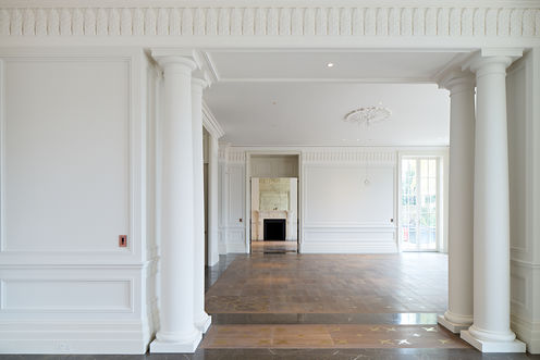 Bespoke Fibrous Plaster Cornices, Friezes, Columns, Ceiling Roses and Wall Panel Mouldings