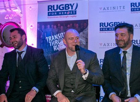Decorative & Ornamental Plastering continues its support of Rugby for Heroes