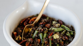 Make This Monday: Lentil and Green Bean Salad with Avocado and Pecans