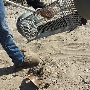 Sand Cleaning Tool, Beach Cleaning Tool, Beach Cleaner
