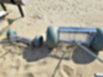 Sand Cleaning Tool, Beqach Cleaner, Beach Cleaning Device