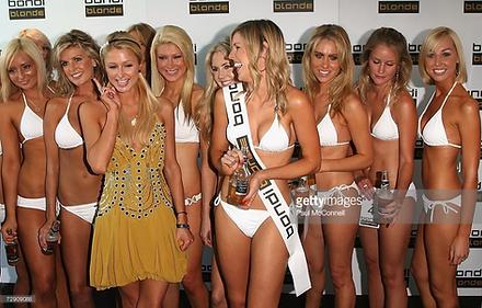 Paris Hilton | Blonde Beer Bondi Sydney Australia