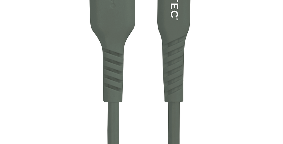 Style Forest Green Lightning to USB Charge/Sync Cable