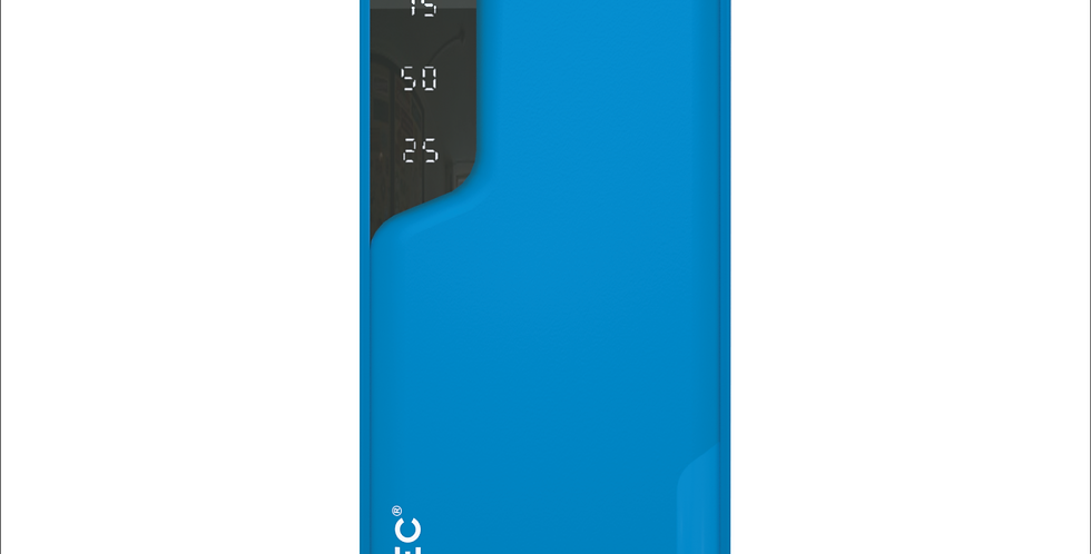 Style Midnight Blue 6,000mAh Dual Port Power Bank