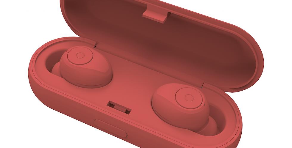 Style Ladybird Red True Wireless Earphones