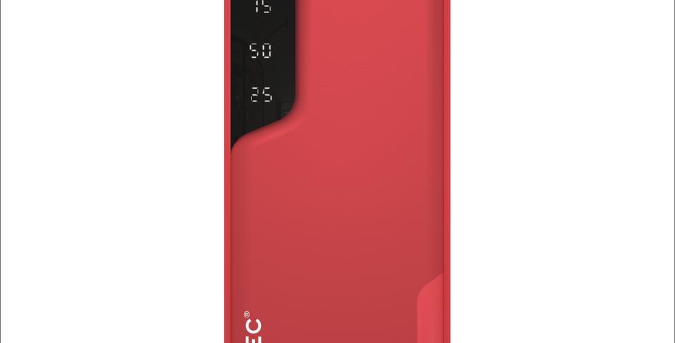 Style Ladybird Red 6,000mAh Dual Port Power Bank