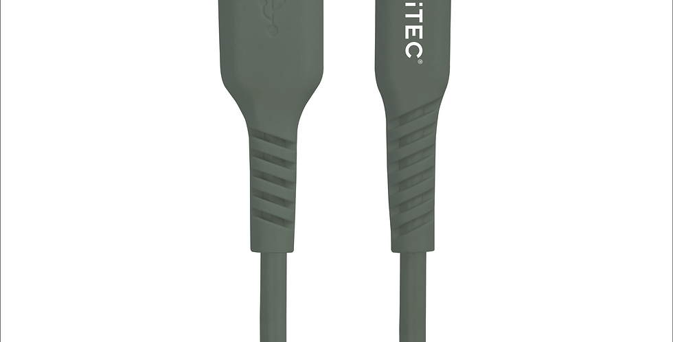 Style Forest Green USB-C to USB Charge/Sync Cable