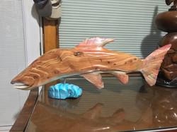 Cedar Salmon 30' long L side