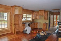Hickory Cabinets ( Knotty )