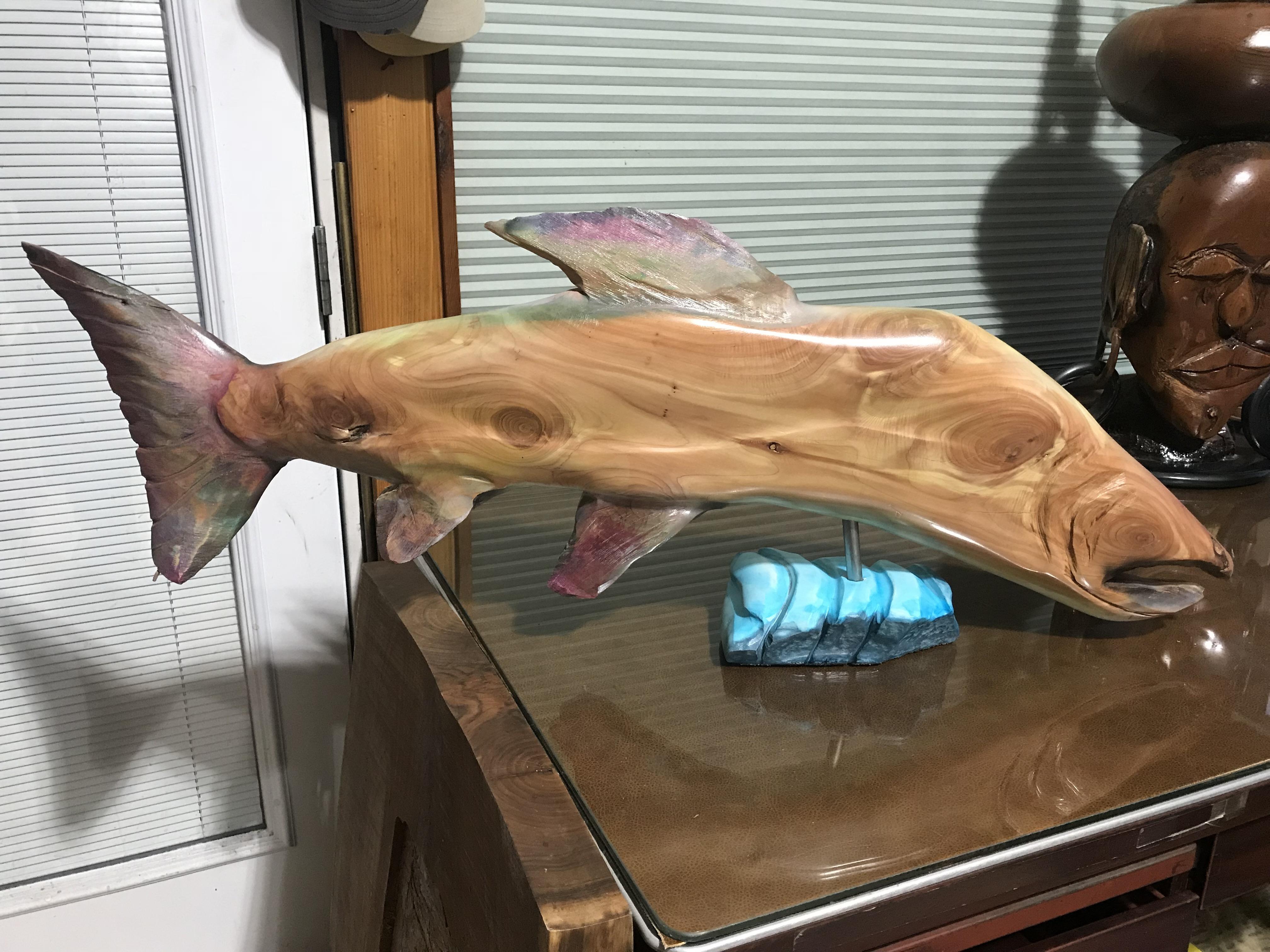 Cedar Salmon 30''long R side